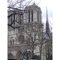 notre dame paris latin quartier france cathedral