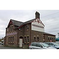 wales anglesey llanfairpg architecture railways