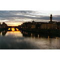 florence firenze florencia arno river sunset hollidays tamerlans