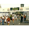 me crossing the line in 1985 age 52