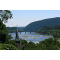 A view from Jefferson Rock at Harper's Ferry