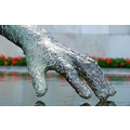 hand water touch