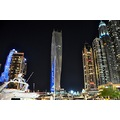 dubai highrise nightshot buildings nikon d90