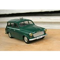 skoda 1202 estate 143 scale model car taxi praha