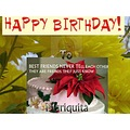 To My Dear Friend Birthday Mariquita