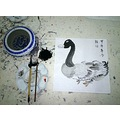 A big duck, my first Traditional Chinese Painting