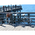 coneyisland brooklynnewyork pier bicycle fishing