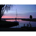 The Norfolk Broads, England, by night
