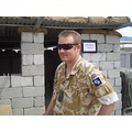 LCpl 'Dinger' Bell - G4 magician.  Issue shades, non-issue 'tache!