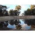 reflectionthursday farm dam sunrise perth hills littleollie