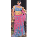 Blue Pure Silk Lehenga Choli with Dupatta