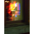 red blue yellow window color reflection light abstract