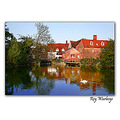 Flatford mill birth place of John Constable.....painter.
