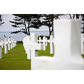 Normandy Normandie D Day June 6 1944 WWII American War Cemetery Lest We F