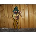wood carving hill billy mountain man