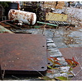 storage yard rust