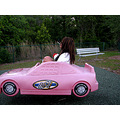 Suzannes first american PINK cars