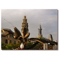 spain barcelona architecture view steepleclub spaix barcx archs towes viewx