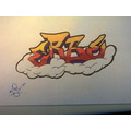 Graffiti Sketches Brodel MES Erbe