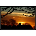 sunset silouette nature church somerset somersetdreams