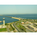 Causeway King Fahd Bahrain Saudia Arab Sea Nature Bridge Road Communication High