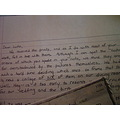 letter writing ink paper