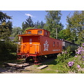 caboose canadian national railway