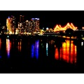 Brisbane night river