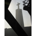 king portugal christ bridge tejo sky metal