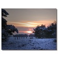 netherlands bussum snow winter sunset nethx bussx snowx wintx sunsx