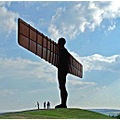 The famous Angel of the North.