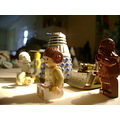 star wars lego dr who dalek princess leia chewbacca shunt robot