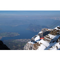 pilatus landscape switzerland luzern mountain alps snow lake