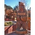 glenwood springs colorado caverns caves park bear sculpture gsfph