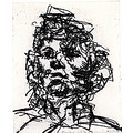 frank auerbach jake etching quest21 original rare prints art belgium