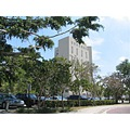 downtown florida ft lauderdale fort building white green blue