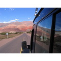 Argentina Cafayate mountains sky colour