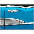 50s Chevrolet Door Panel detail