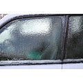 ice freezing rain car window