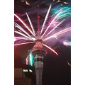 Photo Taken in Auckland Sky Tower Fireworks to celebrate New Year 2010