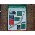 hampshire england rail travel landscape mid hants railway watercress line train