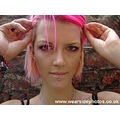 Sasparella Girl Model Pink Hair Portrait Hands
