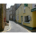 Cornwall UK Mevagissey Hill Street Road