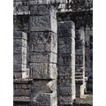 Temple of the Warriors Chichen Itza Cozumel Mexico