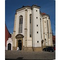 panorama church Prague architecture Bohemia