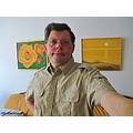 Kent My Art Yellow Orange Beige Shirt 2012 Skane Sweden Portrait