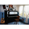 1920 baldwin upright piano music room guitar 1996