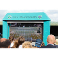 Wimbeldon 2008 - Mens Final from Henman Hill - when we got too cold in No. 1 court we came out to...
