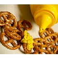 mustard spill backup plan includes pretzels