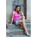 barcelona woman wife portrait summer vacation